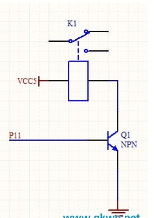 如何利用单片机来驱动继电器