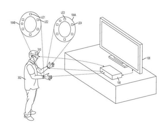 索尼发布一项新专利,可以彻底改变虚拟现实游戏