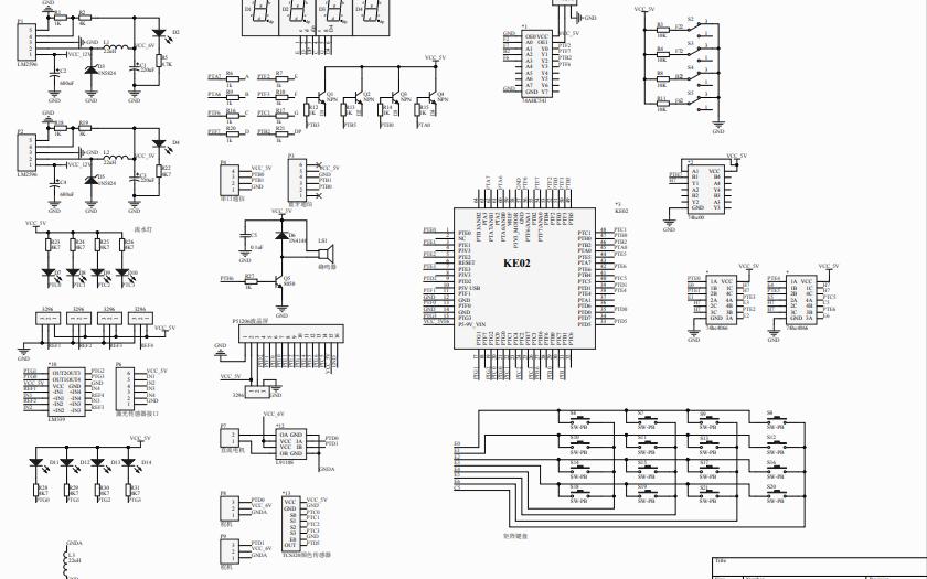 KE02新输出电路原理图