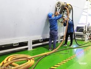 除锈爬壁long88为我国船舶智能制造业发展提供了保障