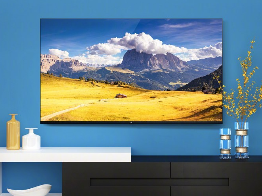 小米电视4:65英寸一体机,搭配三侧视觉无边框全面屏