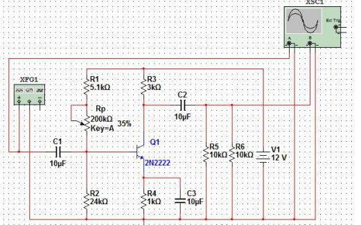 如何使用multisim软件对电路进行仿真