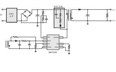 SM7205原边控制恒压功率开关芯片的数据手册免费下载