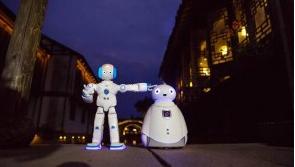 Peanut送餐机器人来了,AI技术开始走近我们...