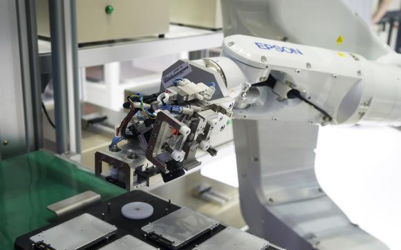 """爱普生携工业机器人领域多款创新方案亮相""""2018..."""