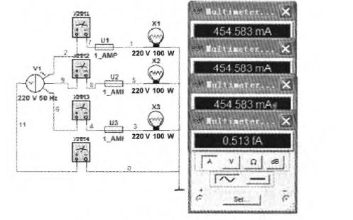 Multisim在三相电路中有什么作用