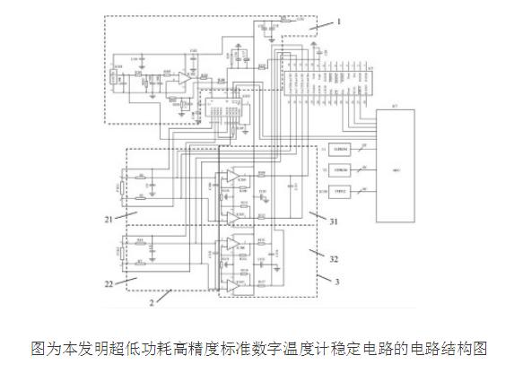 超低功耗高精度數字溫度計的原理及校正誤差方法