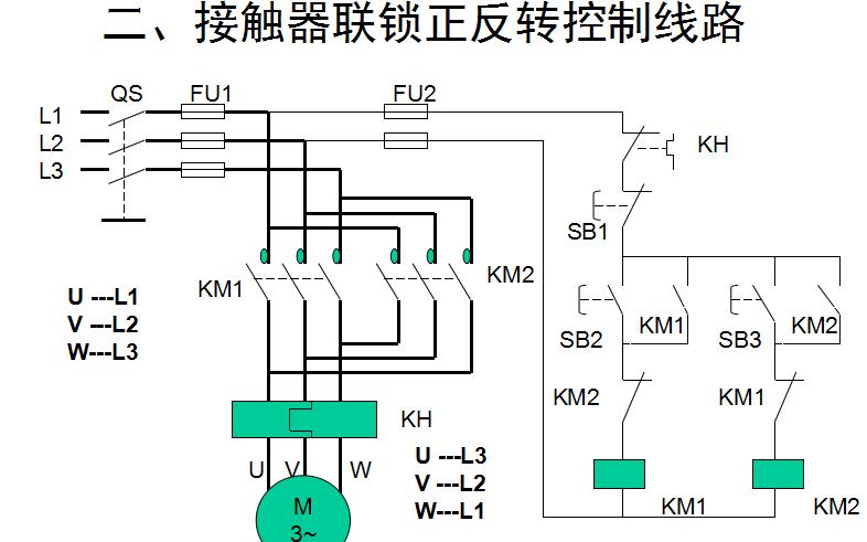 触电常识介绍和常用电子元器件及三相异步电动机的正转控制线路