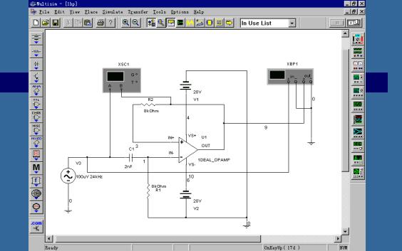 Multisim教程之电路仿真工具Multisim的介绍和应用的教程免费下载