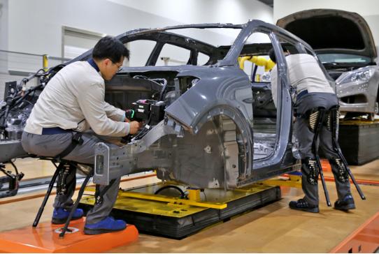 现代汽车推出两款新型背心外骨骼可穿戴的工业long88