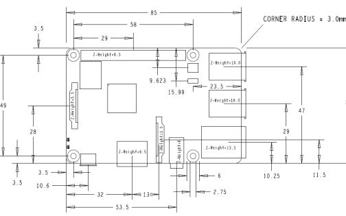树莓派3B的硬件资源详细介绍免费下载