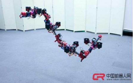 日本研发出DRAGON飞行机器人,在飞行中也能变...