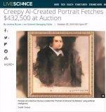 AI艺术作品拍出300万高价