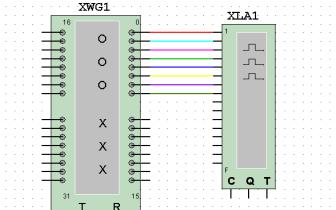Multisim使用教程之电子技术基础仿真实验数字信号发生器的使用概述
