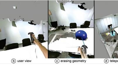 微软将VR和AR的优势结合起来,创建了一个混合现...