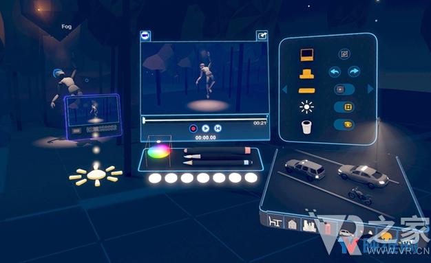 3D内容创作工具Tvori更新,VR故事叙述踏上...