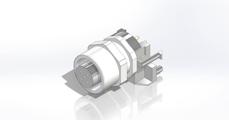圆形传感器连接器产品Vivern系列适用于高性能...