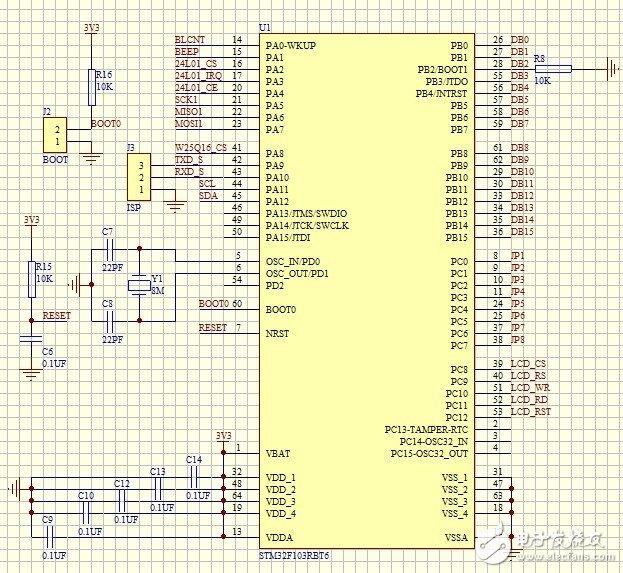 基于STM32单片机在手持设备中的应用设计