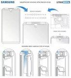 三星公布水滴屏+框架内传感器设计