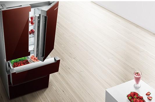 博世家电推出维他鲜动力多门冰箱,可避免设置不当引起的食物保存不良