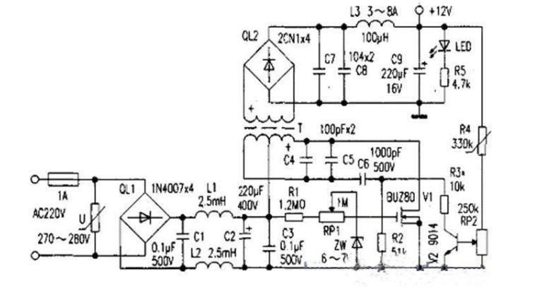 解答如何自制稳定可靠的开关电源