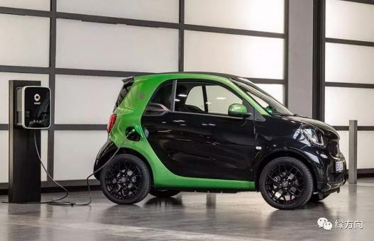 2019年底奔驰smart车型将全面转型电动化,...