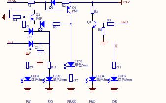 AMP和LED及POWER的详细原理图的详细资料免费下载
