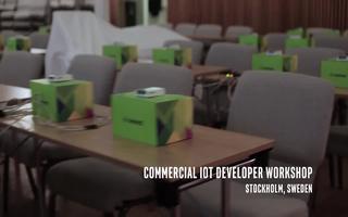 斯德哥爾摩的英特爾物聯網商業研討會