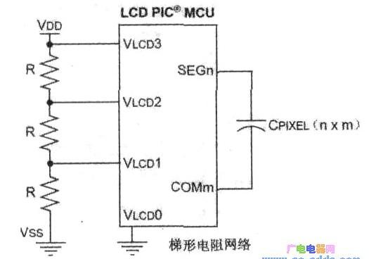 基于PIC单片机和LCD模块对电流的驱动