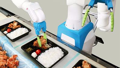 日本开发出一款便当分装机器人,取得了显著的应用效...