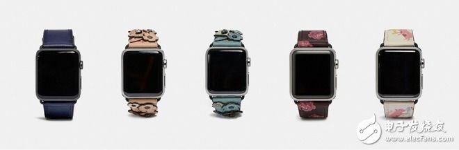 蔻驰为AppleWatchSeries4设计多款表带 售价150美元起