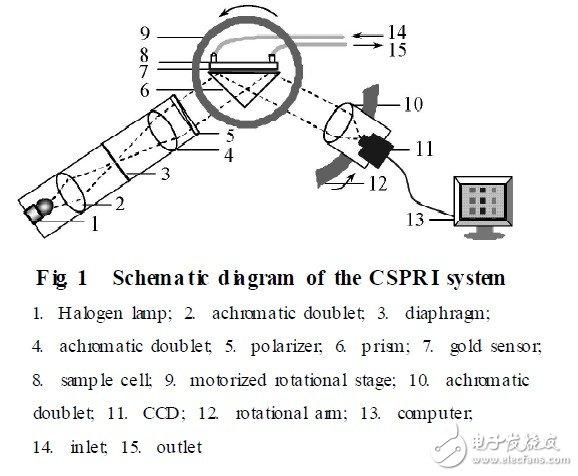 利用CSPR I系统进行彩色表面等离子体共振成像的研究