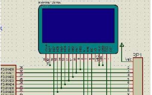 12864显示测试电阻值的程序