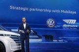 大眾汽車和英特爾旗下Mobileye宣布合作部署...