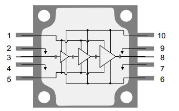 TGA2239-CP GaN功率放大器的数据手册免费下载