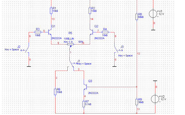 如何使用Multisim中的差动放大电路详细使用实验说明