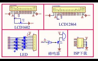 52AVR单片机最小系统原理图资料免费下载