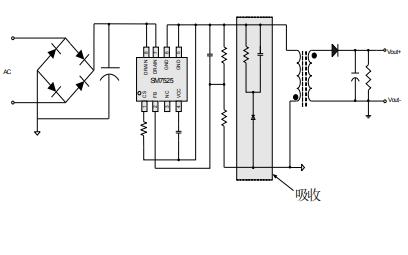 SM7525原边反馈控制功率开关芯片的数据手册免费下载