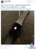 苹果推送watchOS5.1系统 用户反映会导致...