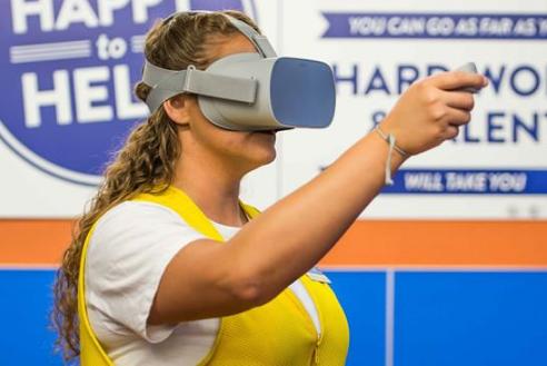 VR找到了一个新的增长领域 沃尔玛和其他F500...