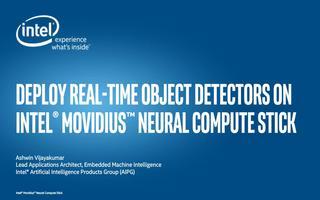 在英特尔Movidius神经计算棒上对象检测器进行实时部署
