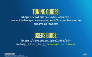 英特尔VTune放大器关键指标和基本用法介绍