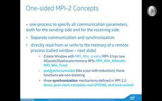 英特尔MPI库新的MPI3.0标准性能介绍