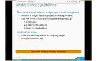 英特尔InspectorXE工具的功能介绍