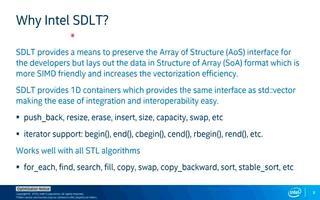 使用英特尔SIMD数据布局模板提高矢量化效率