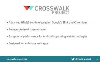 如何使用英特尔XDK与Crosswalk项目进行...
