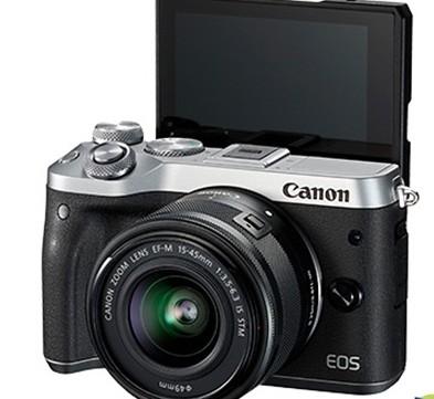 佳能EOS M6相机采用全像素双核CMOS AF...