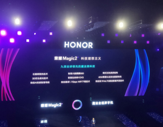 榮耀Magic2攜九大自主研發黑科技亮相 成為了...