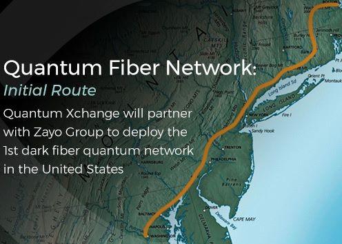 美国Quantum Xchange公司正式推出了美国首个量子互联网
