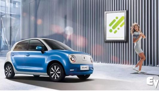 欧拉R1的亮相  颠覆了对新能源汽车领域微型电动...